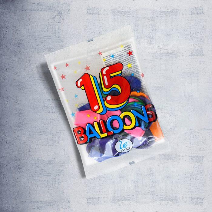 15 Round Balloons