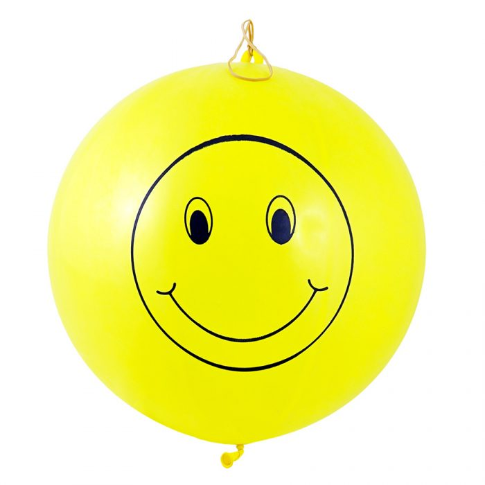 Smiley Face Punch Balls