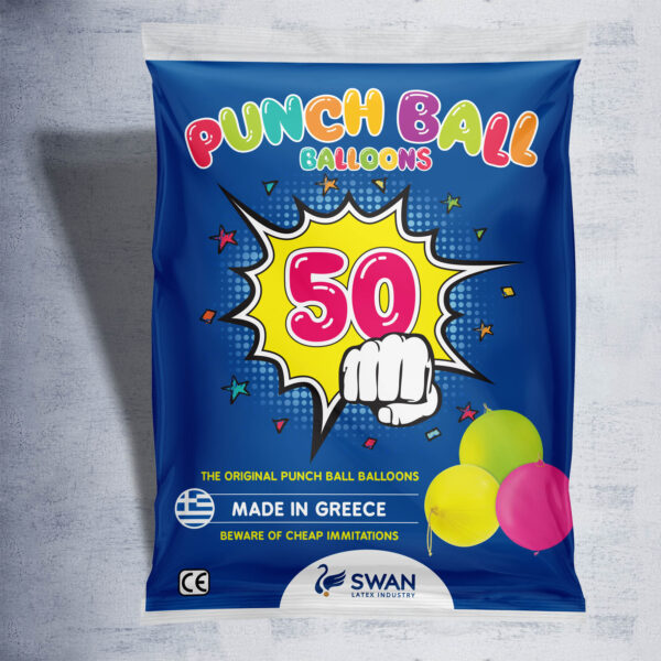 50 Punch Ball Balloons