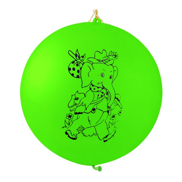 Punch Ball Neon Balloons
