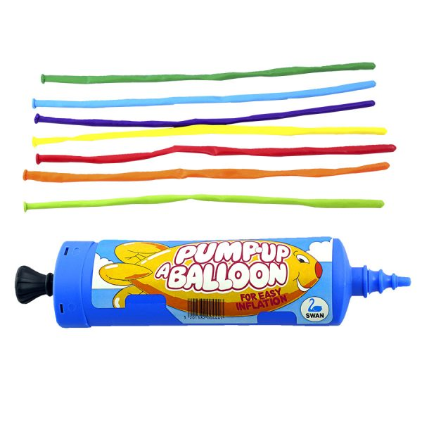 Modelling Balloons + Pump