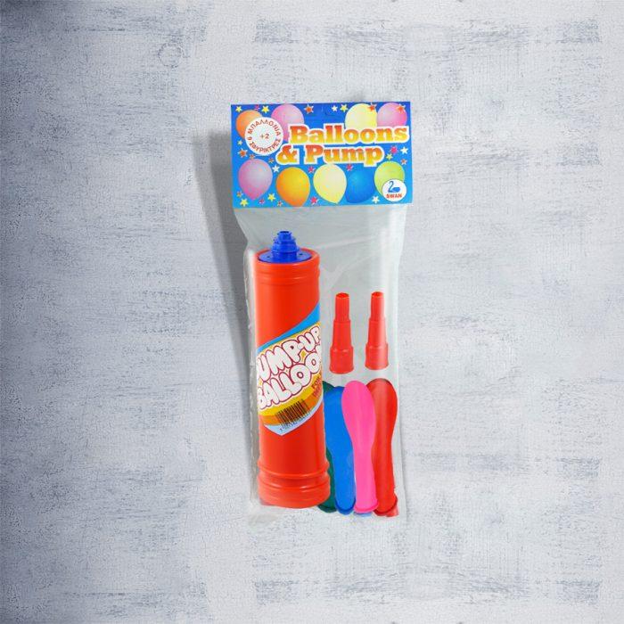 Balloons + Pump